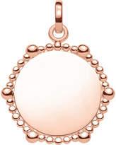 Thomas Sabo Love Bridge Coin Dots 18ct rose gold-plated pendant