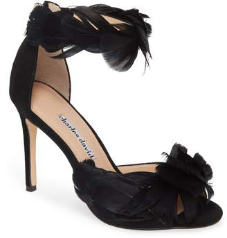 Charles David Collector Feather Sandal