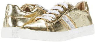 Naturino Assisi Zip SS20 (Little Kid/Big Kid) (Silver) Girl's Shoes