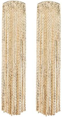 Anissa Kermiche Fil d'or gold vermeil earrings