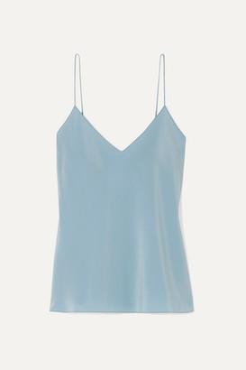 The Row Prima Silk-satin Camisole - Blue