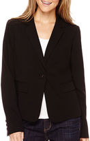 Liz Claiborne Long-Sleeve Suiting Blazer - Petite