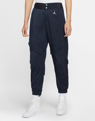 Jordan Nike utility pants in navy