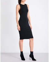 KENDALL + KYLIE KENDALL & KYLIE Mesh-panel fitted neoprene dress