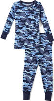 Mish Mish Navy Camo Pajama Set - Infant