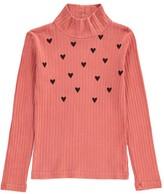 Bobo Choses Heart Polo Neck T-Shirt