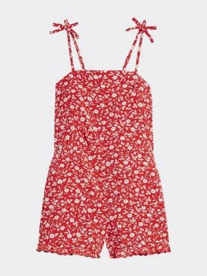 Tommy Hilfiger Essential Floral Print Viscose Jumpsuit