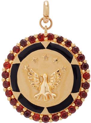 Storrow 14K Gold Military Eagle Medallion
