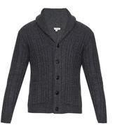 Burberry Nissington Aran-knit cardigan