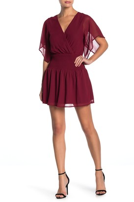 Dee Elly Smocked Mini Dress
