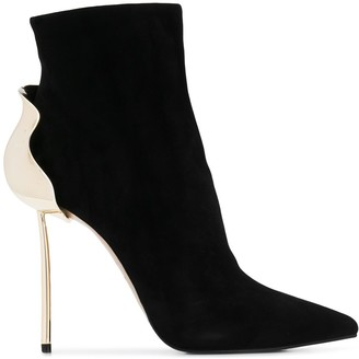Le Silla Pointed Ankle Boots