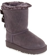 UGG 'Bailey Bow Ruffles' Genuine Shearling Lined Boot (Walker, Toddler & Little Kid)