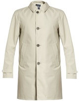 Herno Laminar Single-breasted Overcoat