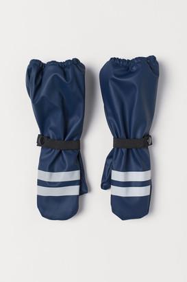 H&M Waterproof Mittens - Blue