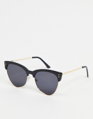A. J. Morgan AJ Morgan cat eye sunglasses in black