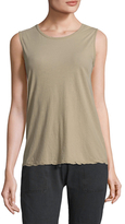 James Perse Crewneck Sleeveless Top