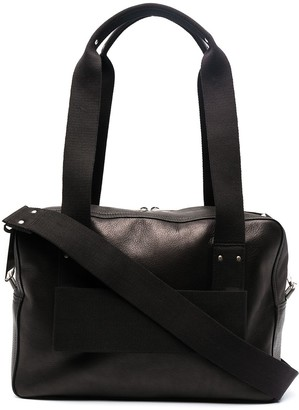 Rick Owens Trolley leather tote bag