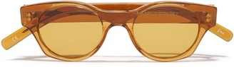 Andy Wolf Gideon Round-frame Acetate Sunglasses