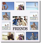 "AdecoTrading Decorative ""Friends"" Wall Hanging Collage Picture Frame"