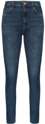 J Brand Leenah high-waist skinny jeans