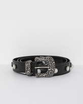 MM6 MAISON MARGIELA Croc Print Belt