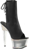 Pleaser USA Women's Illusion 1018RS Ankle Bootie