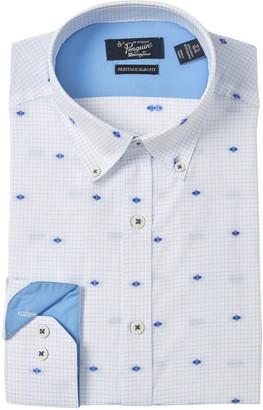Original Penguin Slim Fit Grid Dot Dress Shirt
