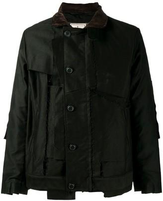 Maison Mihara Yasuhiro Patchwork Field Jacket