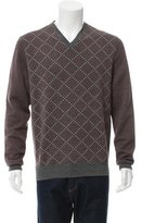 Hermes Patterned Wool Sweater