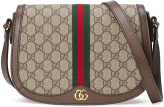 Gucci Ophidia Small GG Supreme Flap Messenger Bag