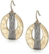 Kenneth Cole New York Gold-Tone Orbital Earrings