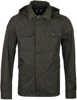 Cp Company Dark Olive Micro-m Goggle Jacket