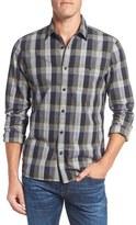 Nordstrom Men's Slim Fit Utility Check Sport Shirt