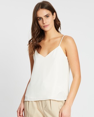 Banana Republic Solid Strappy Camisole