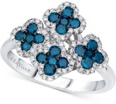LeVian Le Vian Exotics® Diamond Flower Ring (1 ct. t.w.) in 14k White Gold