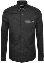 Versace Contrast Shirt Black