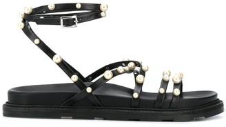 Vic Matié Beaded 30mm Sandals