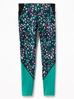 Old Navy Go-Dry Color-Block Leggings for Girls
