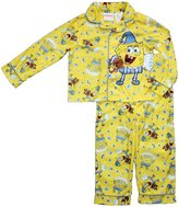 Nickelodeon Spongebob Squarepants Little Boys Long Sleeve Coat Pajama Set