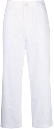 Jejia Cropped Straight Trousers
