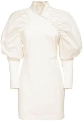 Rotate by Birger Christensen Kim Cotton Poplin Mini Dress