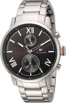 Tommy Hilfiger Men's 1791307 ALDEN Analog Display Quartz Silver Watch