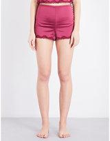 Palindrome Honor French satin shorts