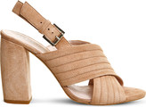 Office Americana padded suede sandals