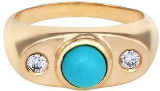 Larisa Laivins Augusta Turquoise Ring