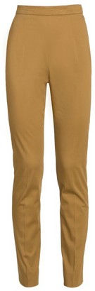 Prada High-Waist Stretch-Cotton Trousers