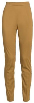 Prada High-Waist Stretch-Cotton Trousers