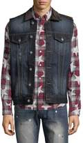 Mostly Heard Rarely Seen Men's Division Cotton Vest