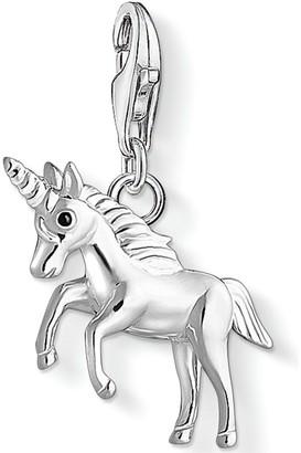 Thomas Sabo Sterling Silver Unicorn Charm