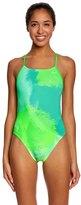 Nike Women's Haze CutOut Tank One Piece Swimsuit - 8148600